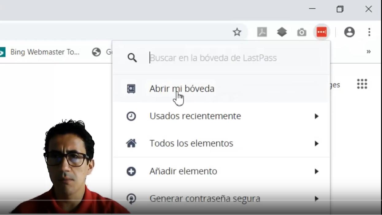 Como Almacenar y Acceder Constraseñas con LastPass.com