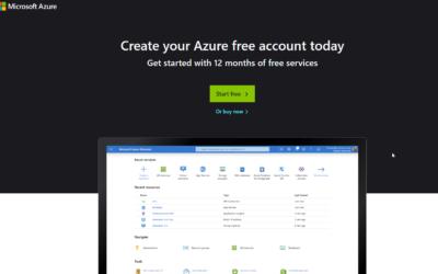 Como Activar el acceso Gratis en Microsoft Azure – darán $200 USD de Crédito y/o 30 Días