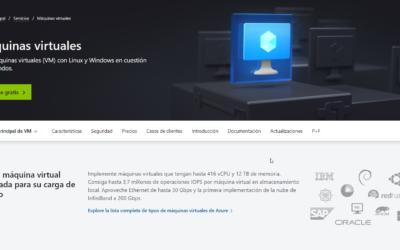 Como Crear una Maquina Virtual en Microsoft Azure