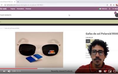 Crear Productos en el SoftWare odoo.com  en el aplicativo e-Commerce