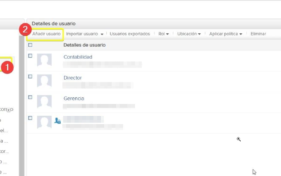 Crear y eliminar usuarios en el sistema de correos empresarial Zoho Mail