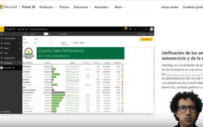 Como crear el primer reporte con Microsoft Power BI; y activar la suscripción gratuita