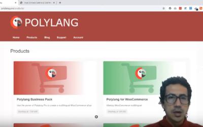 Probando Plugin Polylang – el cual permite crear un sitio web de WordPress bilingüe o multilingüe.