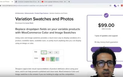 Probando Plugin (Variation Swatches and Photos) de woocommerce.com
