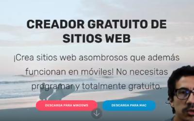 Mobirise – Conceptos Básicos – es una app offline para Windows y Mac para crear sitios web